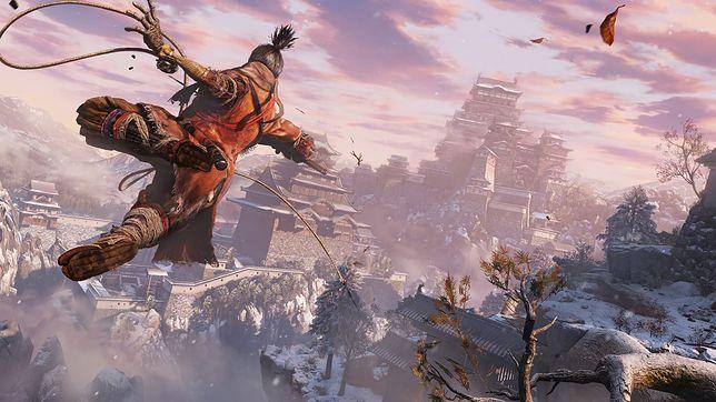 """""""Sekiro: Shadows Die Twice"""" to gra, której akcja rozgrywa się w świecie fantasy inspirowanym kulturą japońską"""