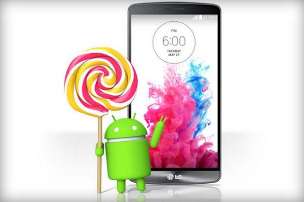LG G3 otrzyma Androida 5.0 Lollipop w nadchodzącym tygodniu!