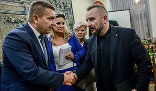 Piotr Liroy-Marzec i Bartosz Arłukowicz