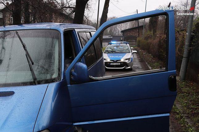 Śląskie. 35-letni kierowca w Sosnowcu był pod wpływem narkotyków i nie miał uprawnień do kierowania pojazdem.