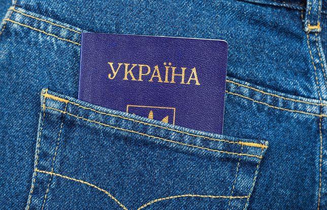 """Kolejki po paszporty na Ukrainie. """"Bilet do UE"""""""