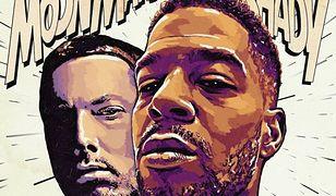 "Eminem i Kid Cudi na okładce singla ""The Adventures of Moon Man & Slim Shady"""