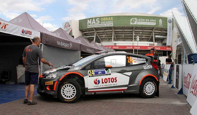Rajd Meksyku: Kubica szybki na odcinku testowym