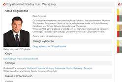 Piotr Szyszko, bratanek ministra, został szefem komisji ochrony środowiska w stolicy