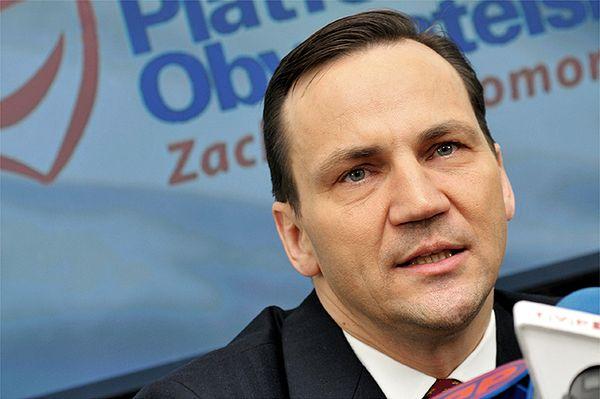Radosław Sikorski: obserwatorzy OBWE nie powinni być pojmani