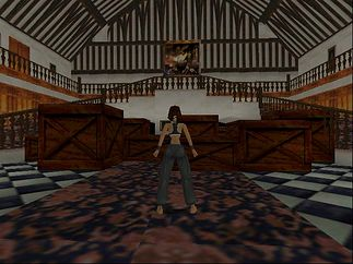Jakaś niewyraźna ta Lara Croft ;)