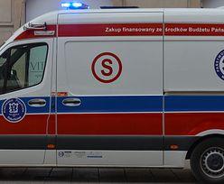 Koszmar na ulicach Warszawy. Pacjent zmarł po wypadku karetki