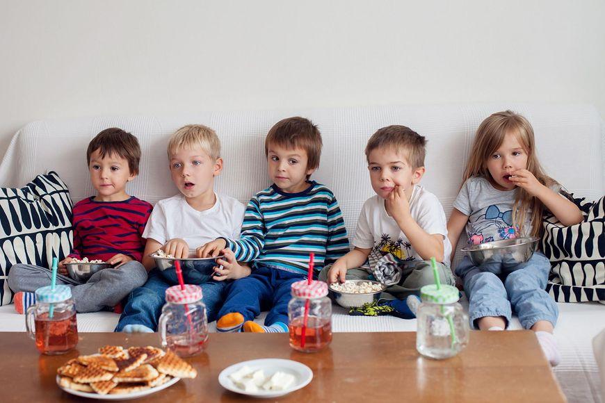 Napoje gazowane często podaje się także dzieciom