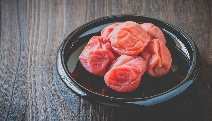 Umeboshi to lek na przeziębienia stosowany w Japonii