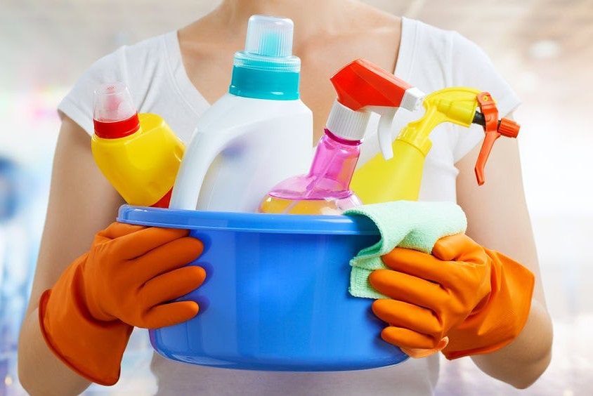 Bezpieczne przechowywanie detergentów