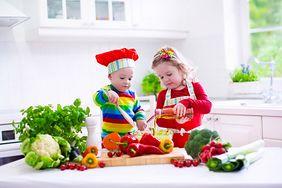 Warzywa dla dzieci - przepisy i właściwości