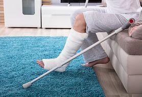 Rekonwalescencja pourazowa. Jak o siebie dbać po złamaniu kości?