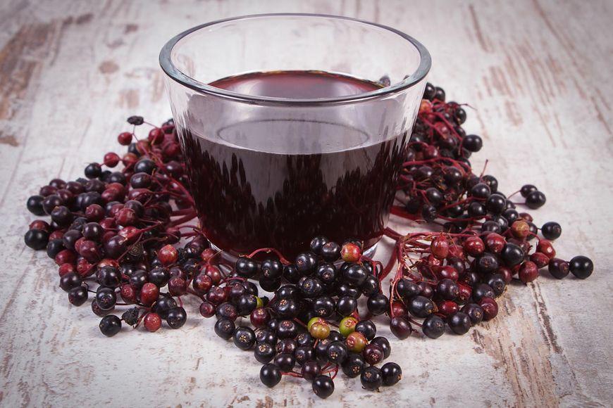 Sok z czarnego bzu - naturalny lek