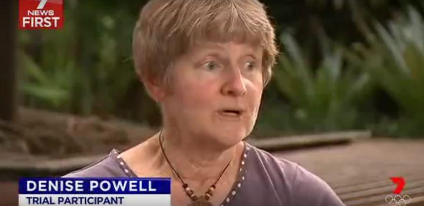 Kobieta chorująca na czerniaka leczona substancją EBC-46
