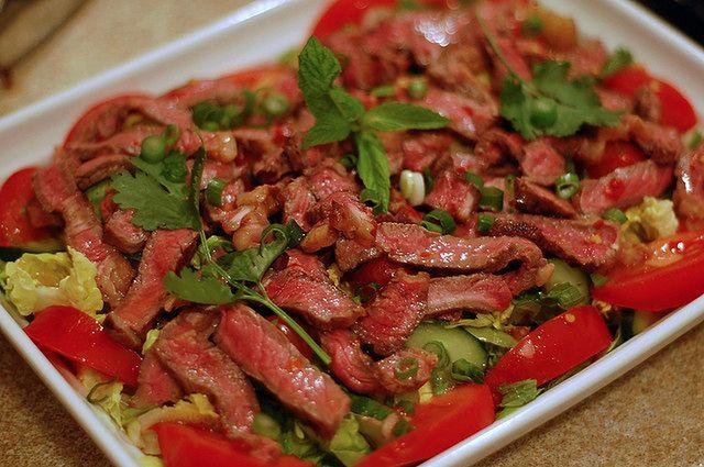 Wołowina po tajsku
