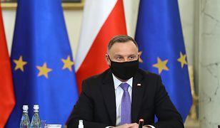 Andrzej Duda o sędziach pokoju. Wspomniał o zmianie konstytucji