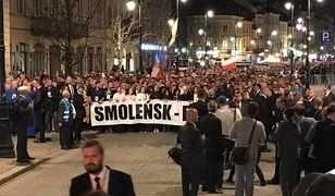 Krakowskie Przedmieście 10 kwietnia 2018 r.