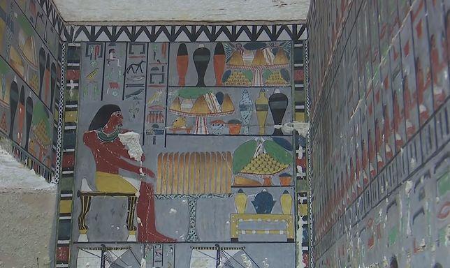 Tajemnicza krypta otwarta w Egipcie. Ma 4400 lat i jest w idealnym stanie