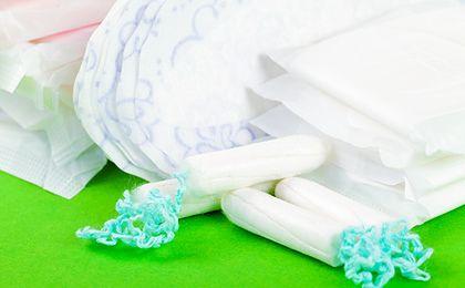 Podpaski i tampony groźne dla zdrowia. Znaleziono środki rakotwórcze