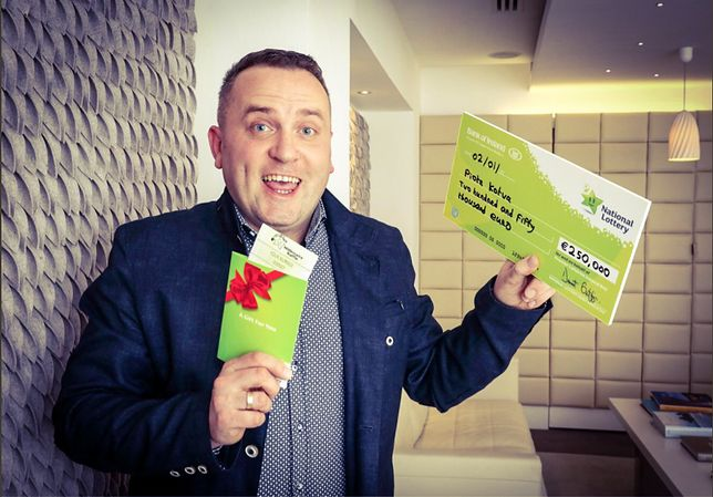 Polak w Irlandii wygrał na Loterii Narodowej. Szczęśliwy los przyniósł mu 250 tys. euro