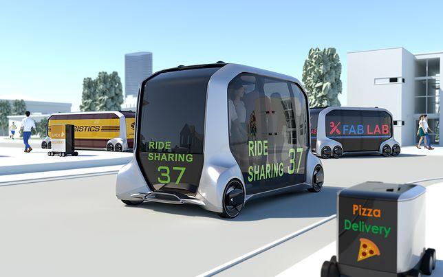 Samochód przyszłości według Toyoty. Podwiezie do pracy, podrzuci przesyłkę, a nawet dostarczy pizzę