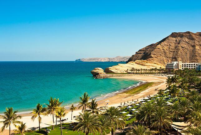 Oman to piękne plaże