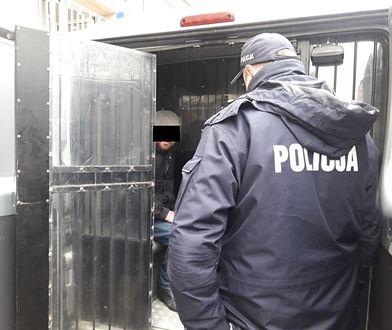 Policja zatrzymała podpalacza śmietników.