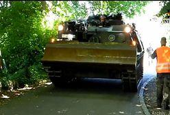 Niemcy: trzymał czołg w piwnicy. 84-latek może za to słono zapłacić
