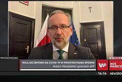 Minister Niedzielski o powrocie do szkół: szczepienia jeszcze nie dają efektu