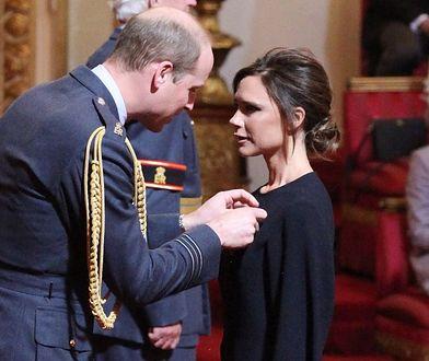 Victoria Beckham otrzymała order od księcia Williama