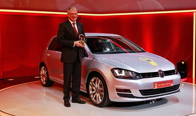 """VW Golf ze """"Złotą Kierownicą 2013"""""""