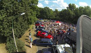 Dron nad Mustang Race 2013 (Wideo)
