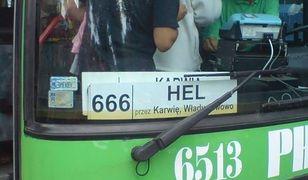 Diabelska linia 666 prosto na Hel
