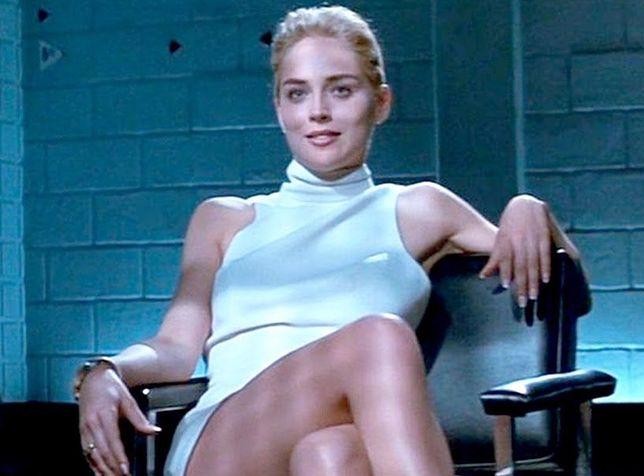 """Sharon Stone w """"Nagim instynkcie"""""""