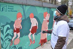 Warszawa. Niezwykłe murale w centrum miasta. Historia Muranowa