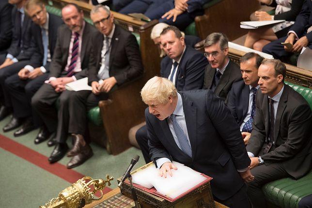 Brexit. Boris Johnson podczas debaty w parlamencie