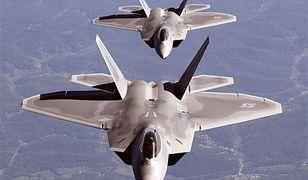 Rozbił się supernowoczesny myśliwiec F-22 - zginął pilot
