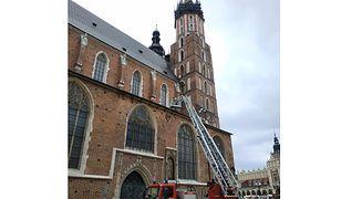Kraków. Bazylika Mariacka została zbudowana w XV wieku.