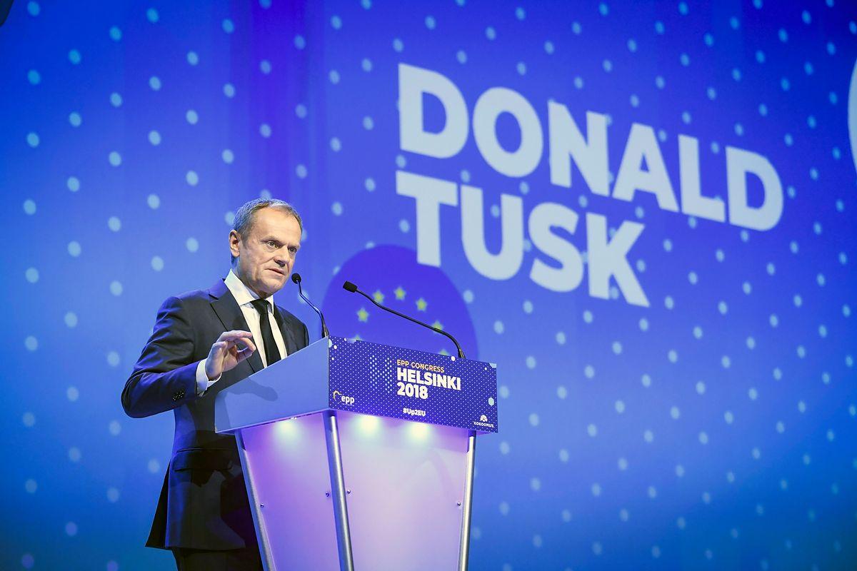 Przemówienie Tuska na kongresie EPL. W sieci zawrzało