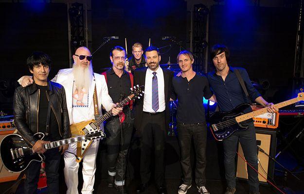 Eagles of Death Metal po koncercie w studiu stacji ABC.
