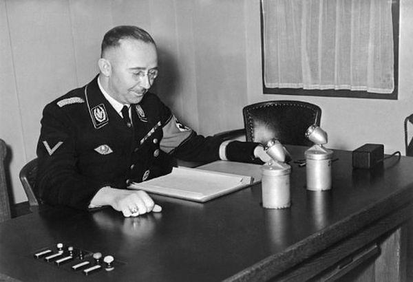 """""""Czytania nie uważam za konieczne"""" - Heinrich Himmler, szef SS"""