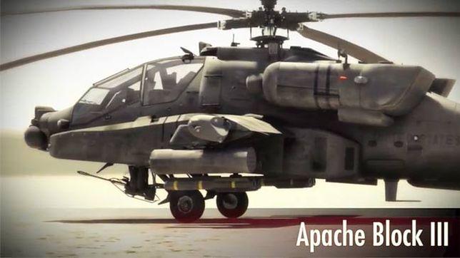 Zmiana warty! Oto nowa odsłona legendarnego śmigłowca Apache