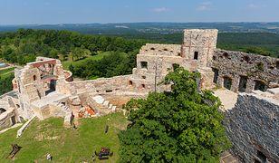 Ruiny zamku w Tenczynie