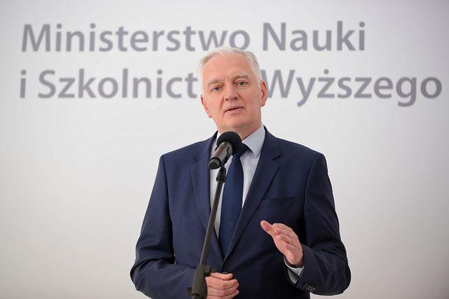 """Jarosław Gowin bez """"jedynki"""" na liście Zjednoczonej Prawicy. Wicepremier wyjaśnia"""