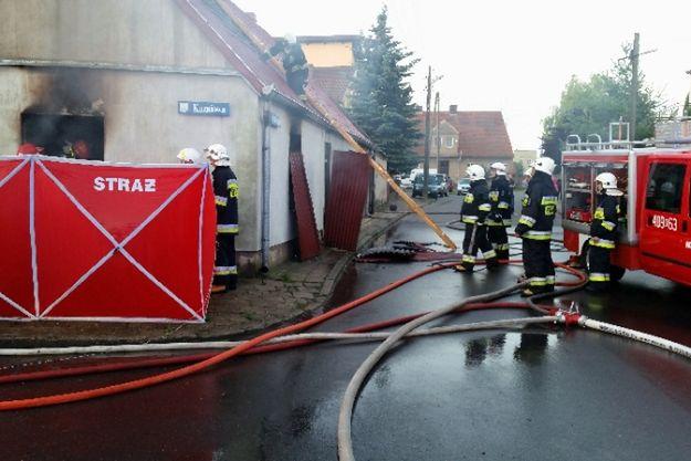 Tragiczny pożar w Margoninie - zginął 60-letni mężczyzna