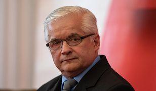 Włodzimierz Cimoszewicz nie zamierza rezygnować ze startu w wyborach do Parlamentu Europejskiego