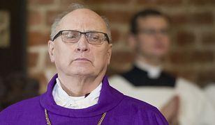 Biskup wspominał też śp Lecha Kaczyńskiego