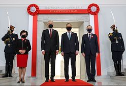 3 maja. Prezydenci Litwy i Ukrainy w Polsce