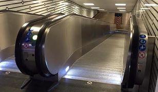Centralny z nowymi schodami. Zakończyły się prace