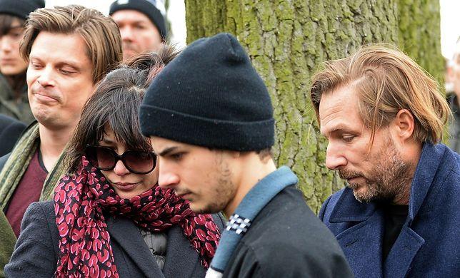 W 2016 r. Vincent (trzeci od lewej) przyleciał z matką do Polski na pogrzeb ojca